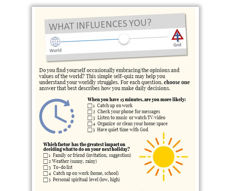 What Influences You?