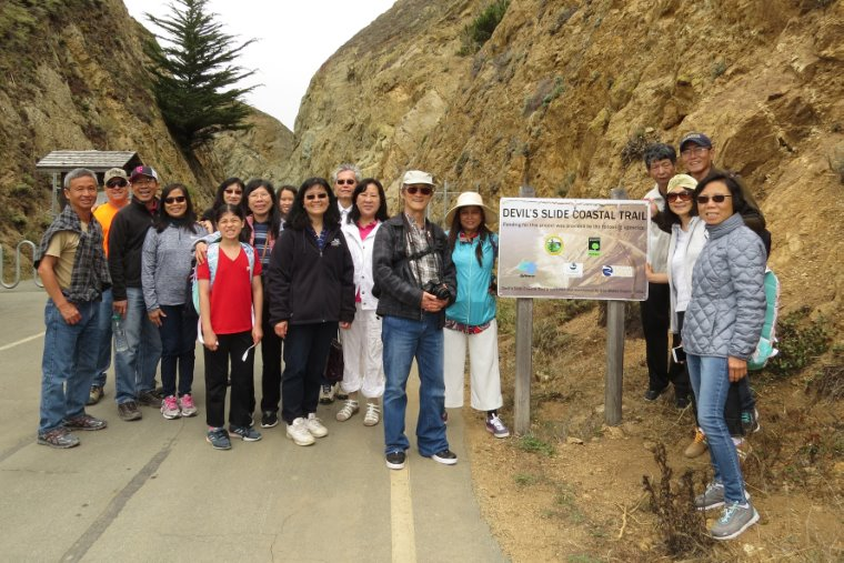 Hiking and Lunch at Devil's Slide in Pacifica